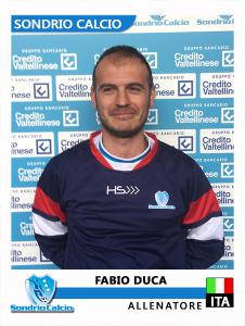 Fabio Duca Allenatore FIGU